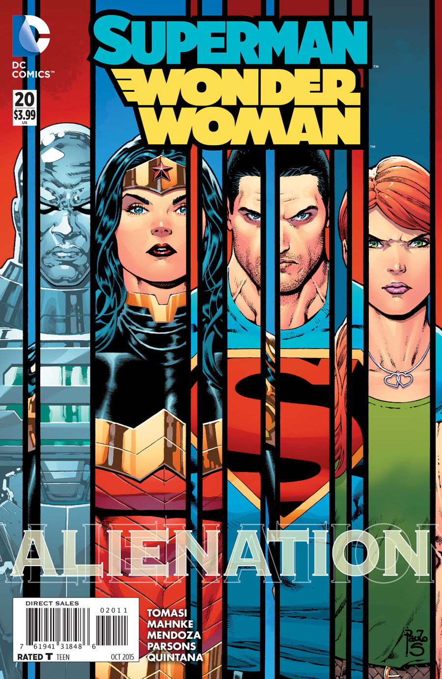 Superman/Wonder Woman #20