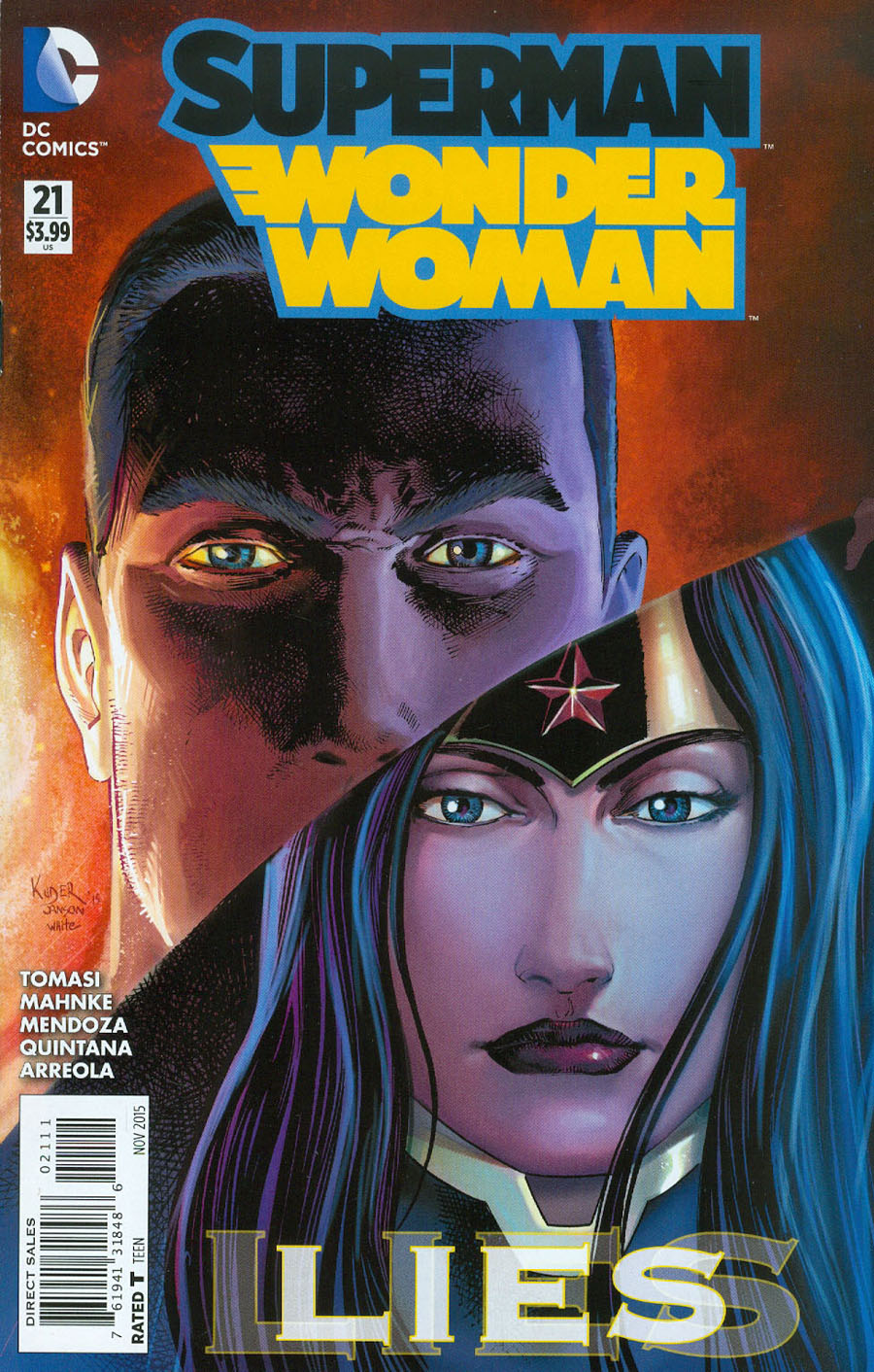 Superman Wonder Woman #11 DC NM Comics Book