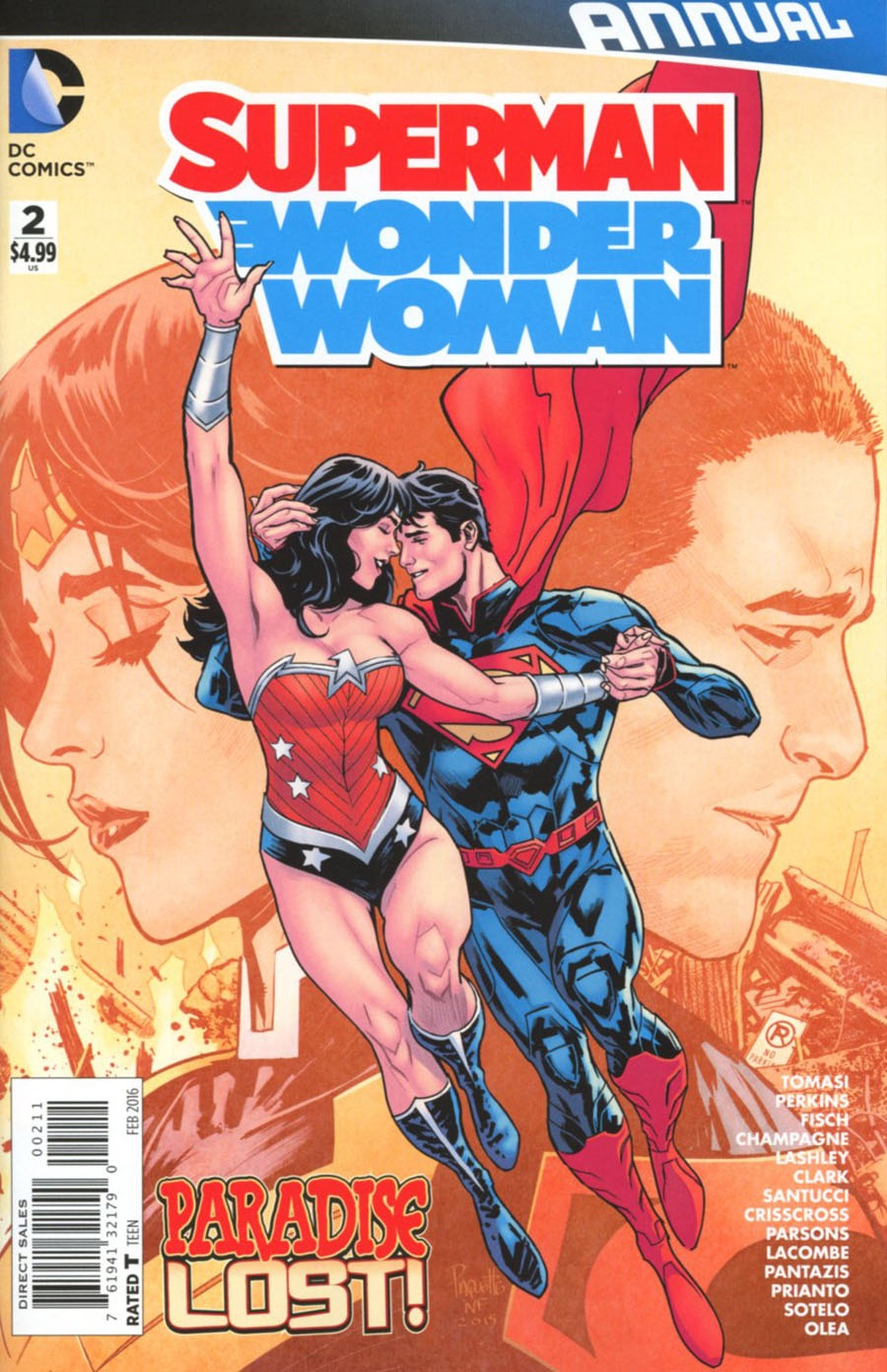 Superman/Wonder Woman Annual #2