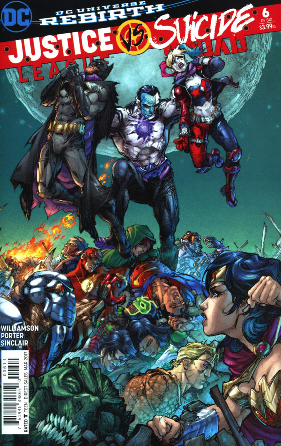 Justice League vs. Suicide Squad #6