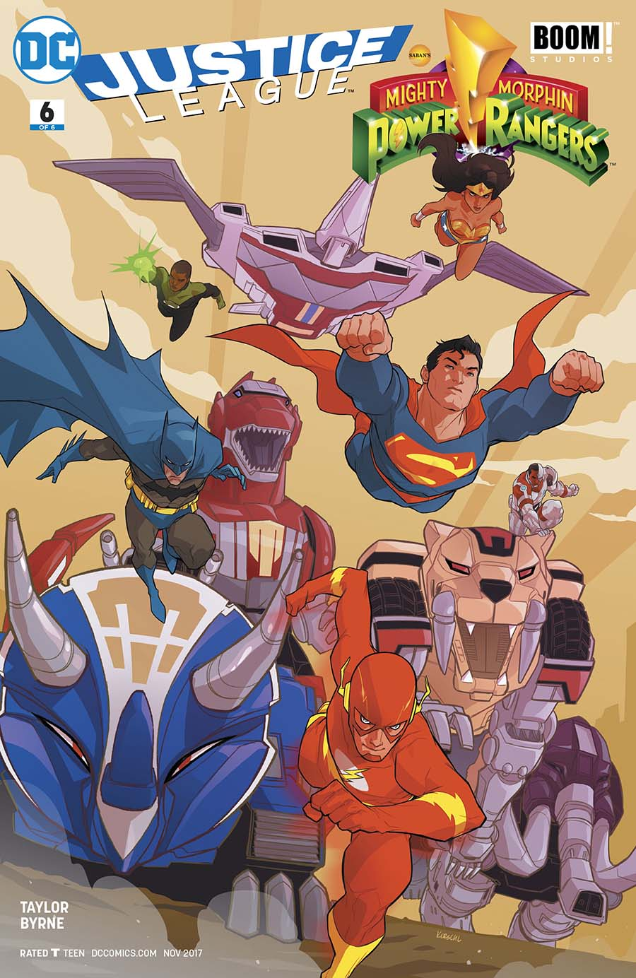 Justice League/Power Rangers #6