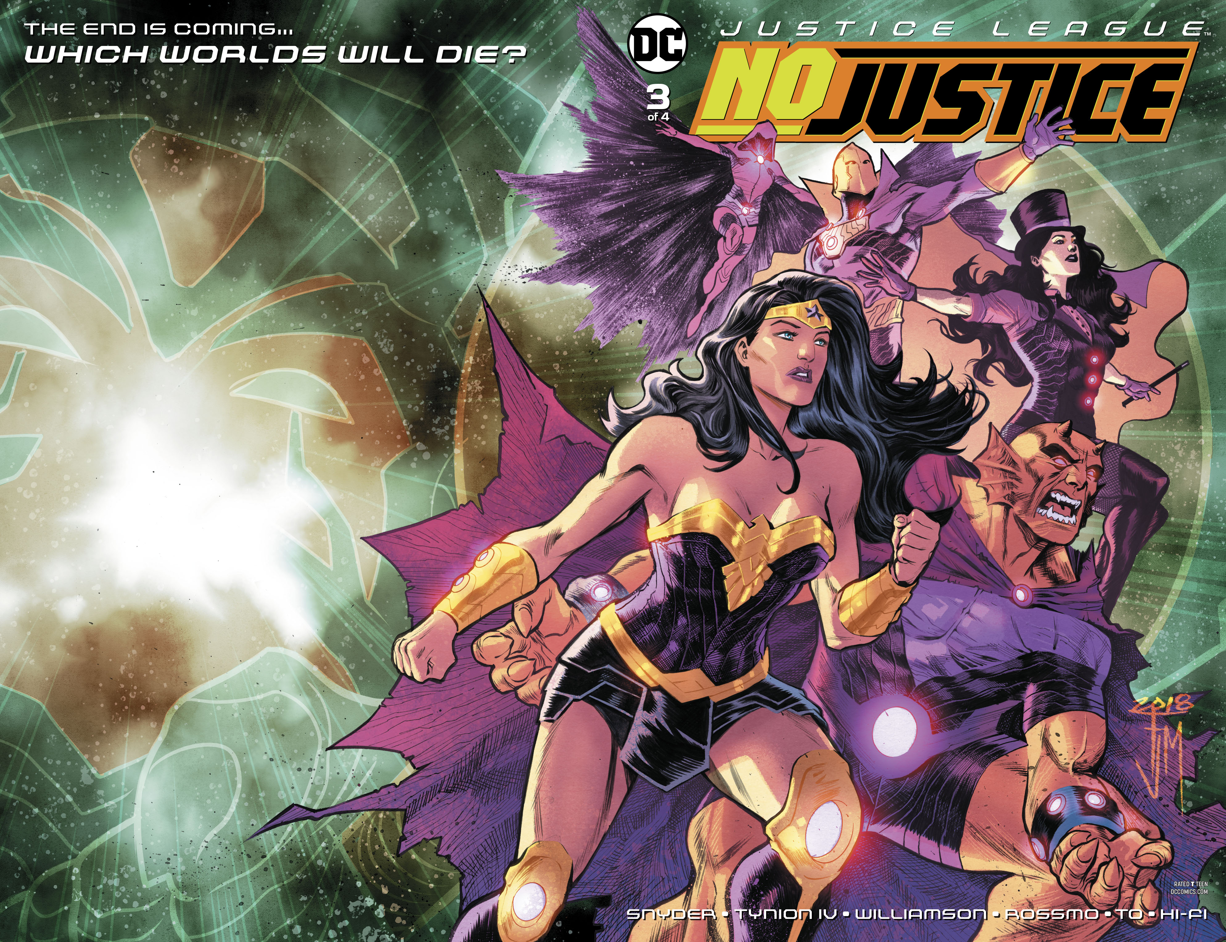 Justice League: No Justice #3