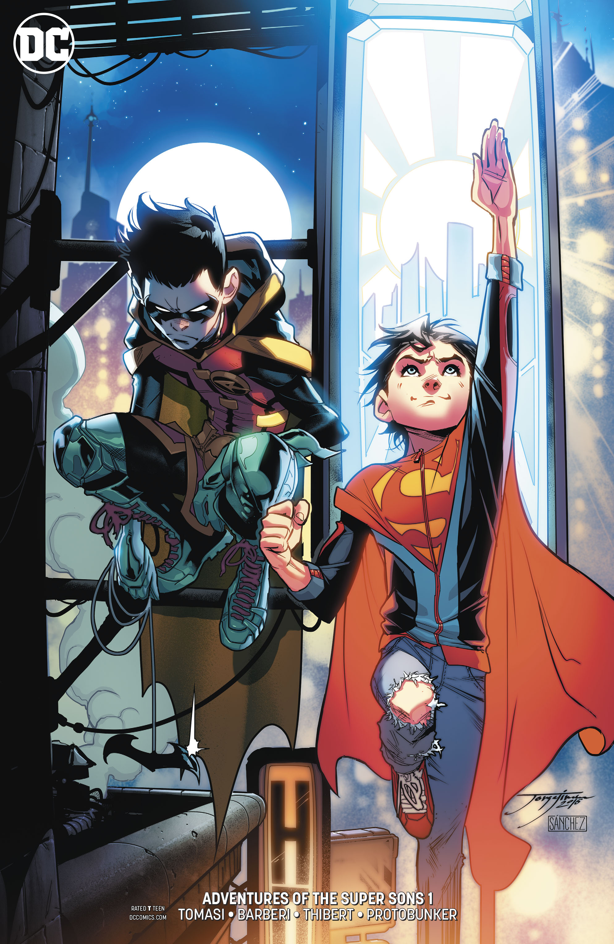 Adventures of the Super Sons #1