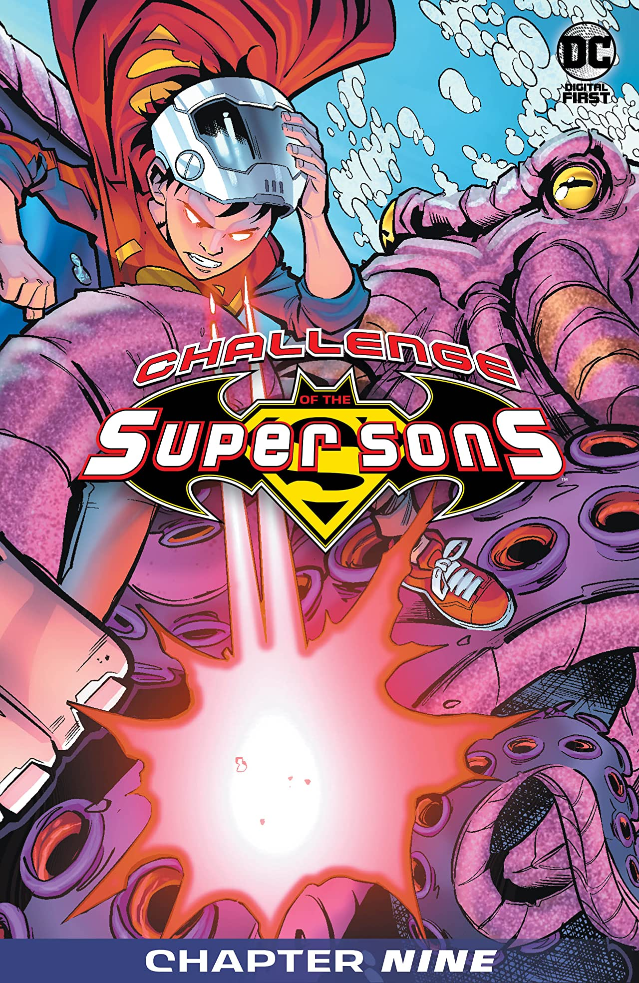 Challenge of the Super Sons #9