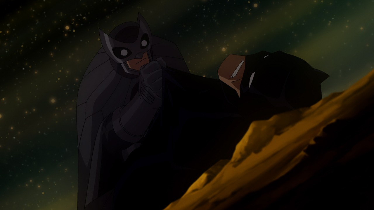 Owlman (voiced by Jame...