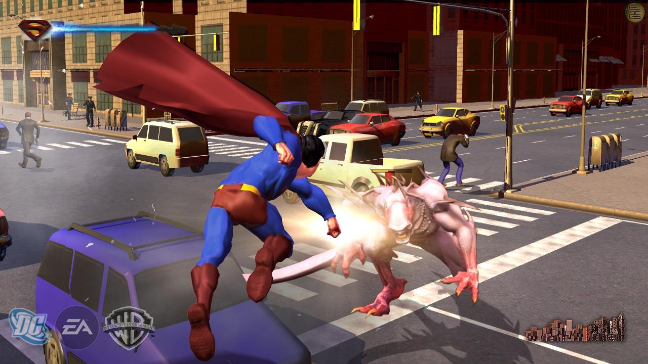 игры супермен скачать на пк