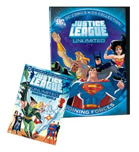 JLU: Joining Forces DVD