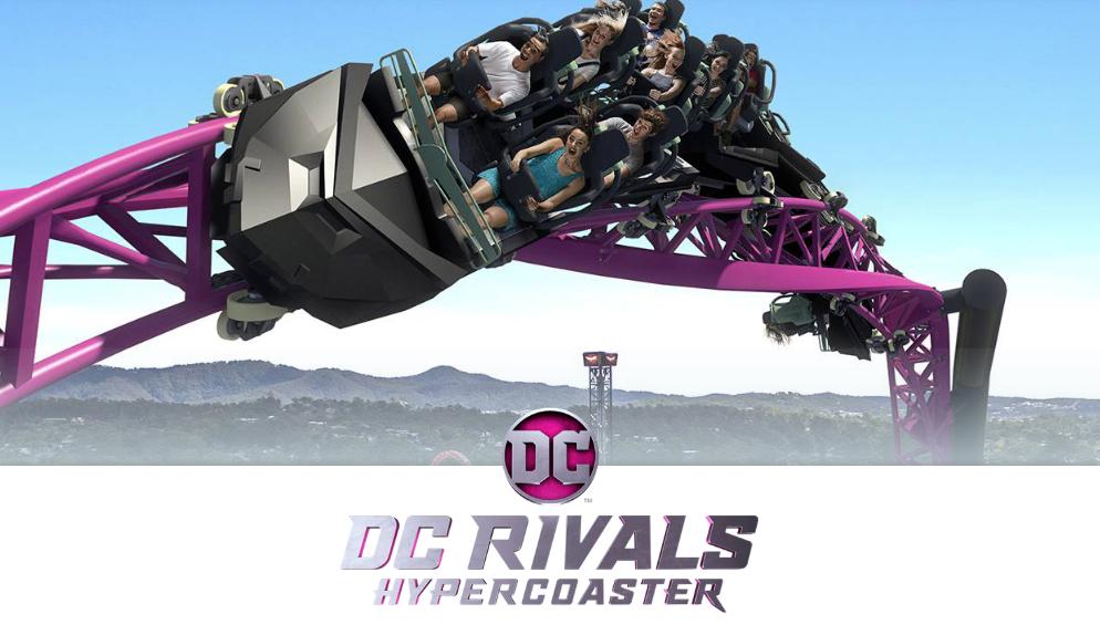 DC Rivals Hypercoaster