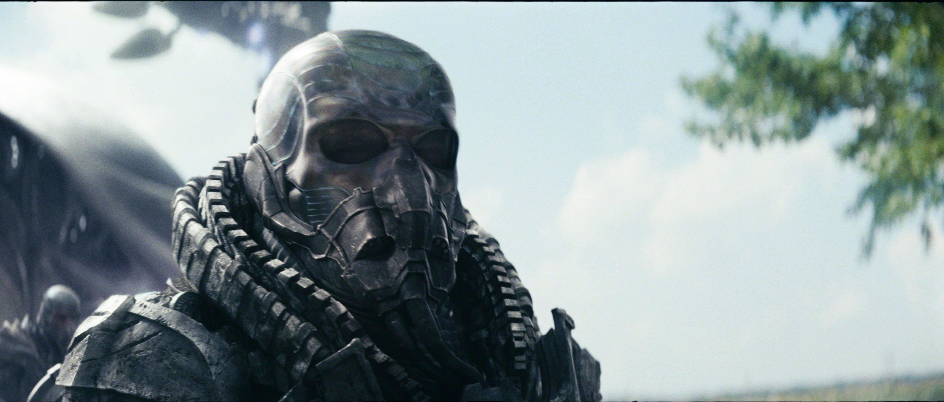 General zod man of steel mask