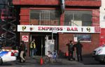 Empress Bar on East Hastings Street in Vancouver