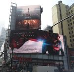 Billboard in Time Square