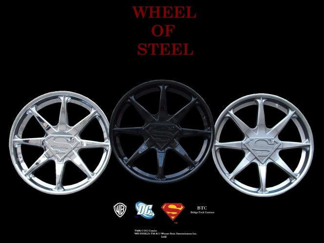 superman vs doomsday wallpaper. April 10, 2006: Bridge Tech Customs Superman Wheels