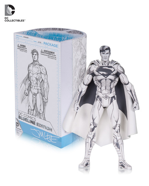 Blue Line Superman Action Figure