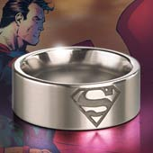 Superman™ Steel Ring