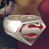 Superman™ Sterling Signet Ring