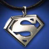 Superman™ Sterling Pendant