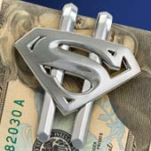 Superman Returns™ Shield Money Clip - Gun Metal