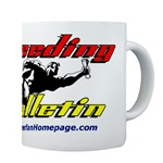Speeding Bulletin Mug