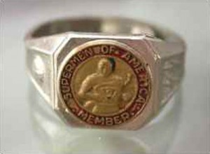 Supermen of America Ring