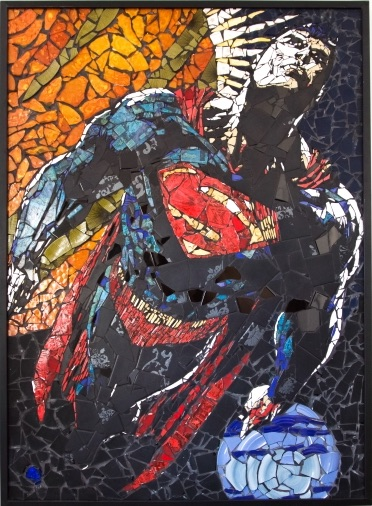 Mosaic Superman