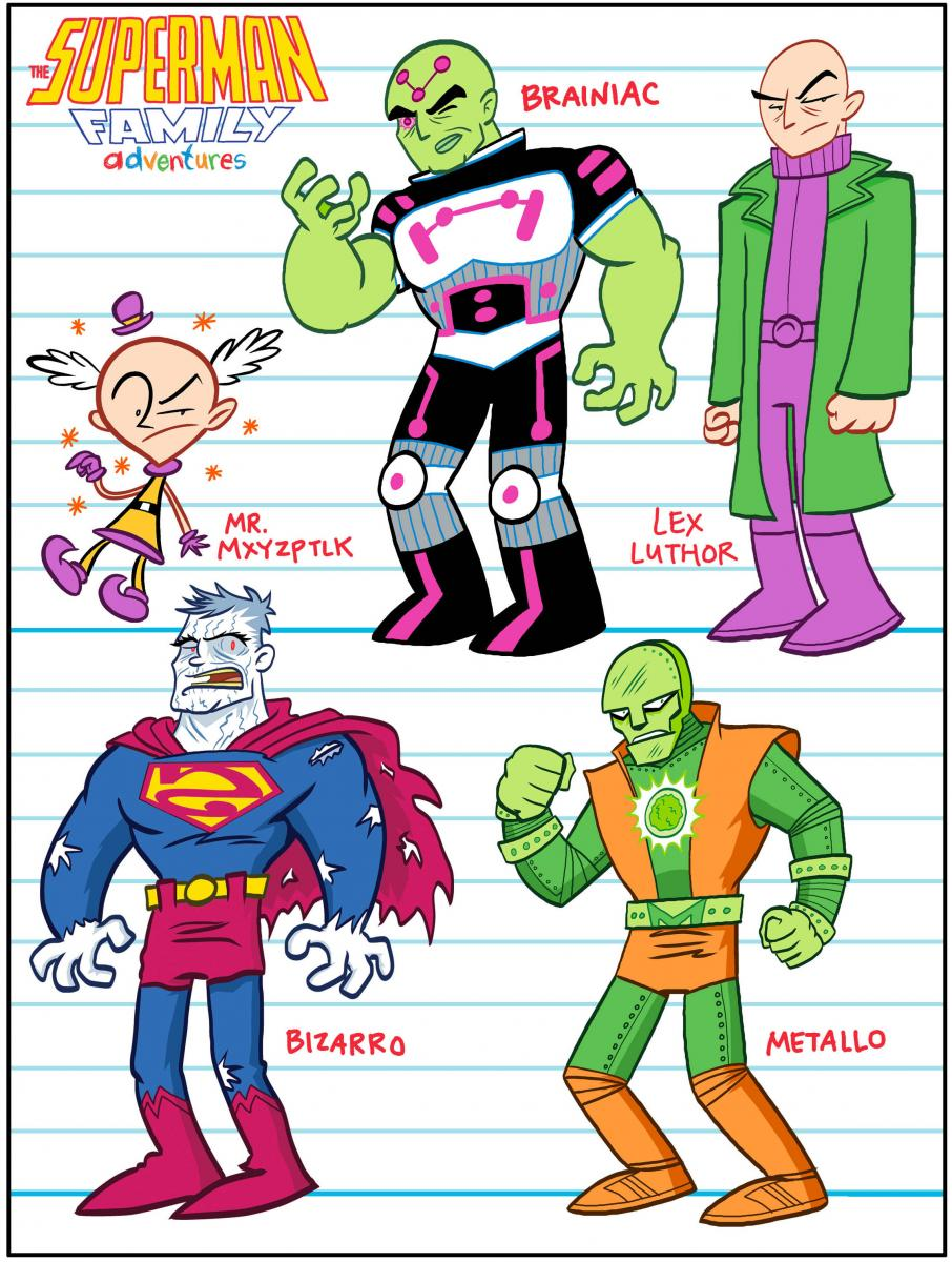 Superman Family Members May 23 2012 superman