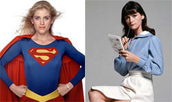 Helen Slater and Margot Kidder