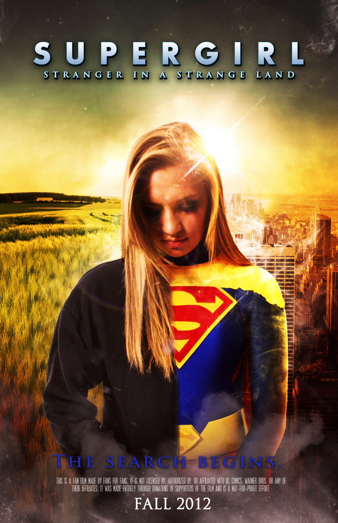 Filmmaker walter c jones tells us that the fan film &;supergirl