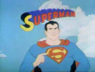 Superman on Sesame Street