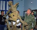 Fidel Castro and the Raft Boy Statue