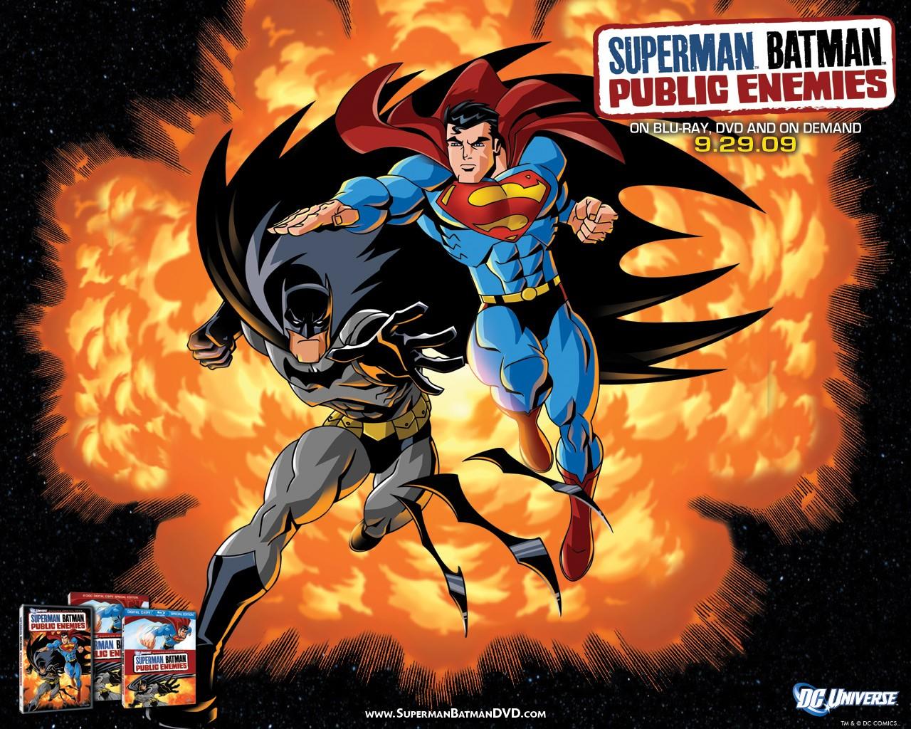 batman and superman cartoon wallpaper - photo #24