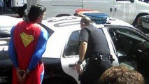 Superman Arrested