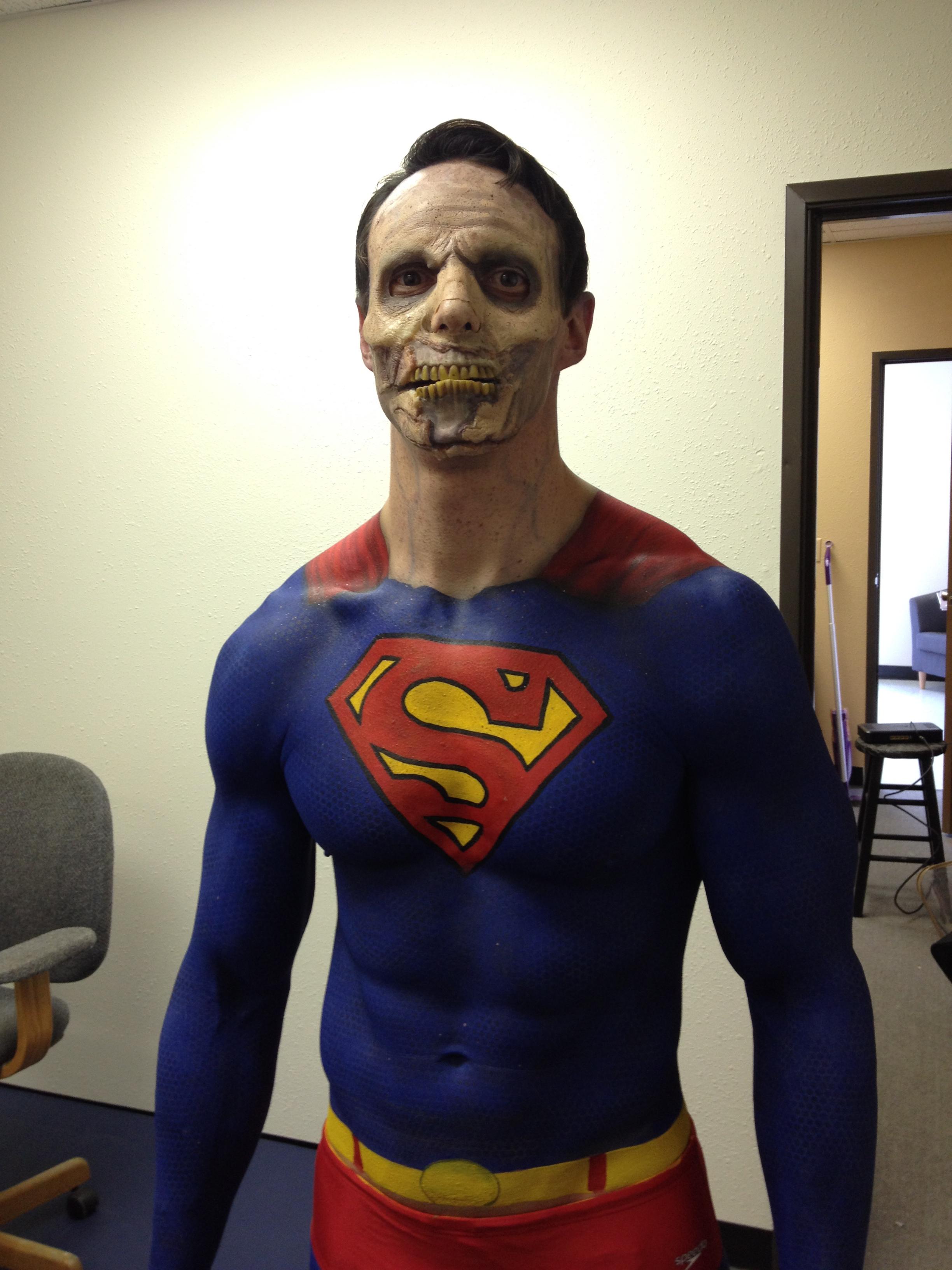 Hulk Halloween Body Paint
