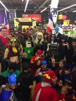 DC Comics Fans Gather Around the Globe to Set World Record - France