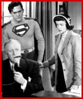 Superman, Lois Lane and Perry White