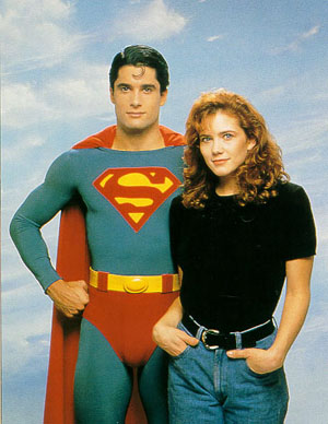 John Haymes Newton and Stacy Haiduk