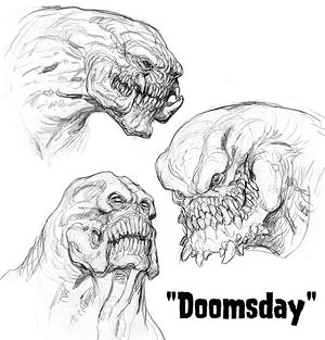 concept art de Doomsday