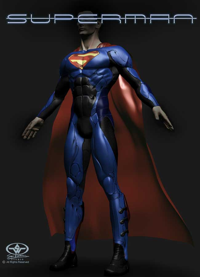 Que traje alternativo de superman es el mas bello?? SUPERMAN_Suit01