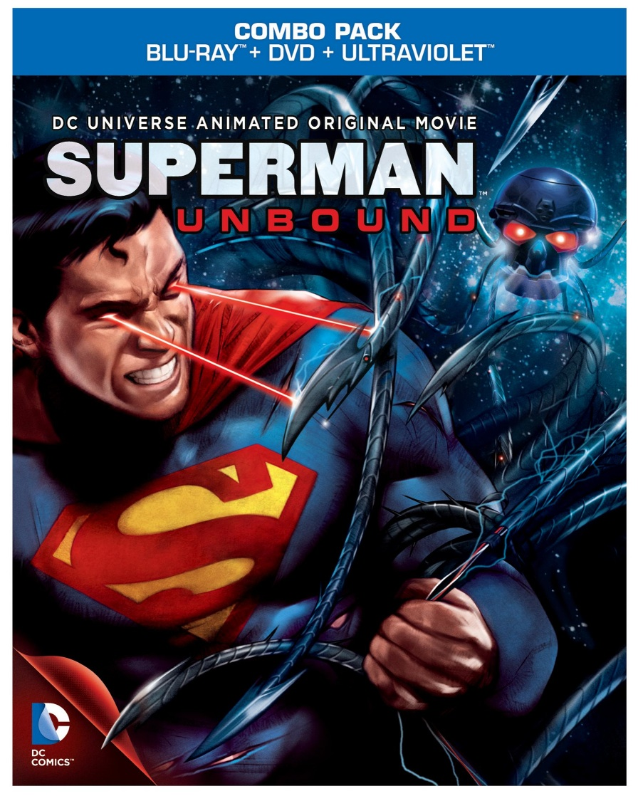 Next bags for school - Superman Unbound Animated Movie