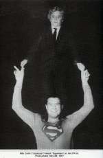 Billy Curtis and George Reeves