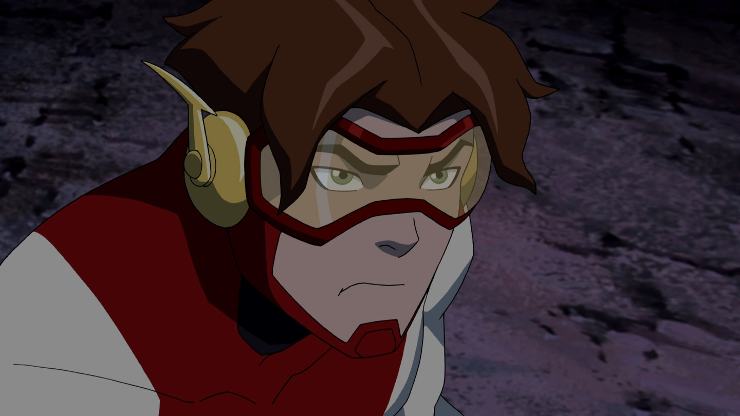 Wally west young justice civvies