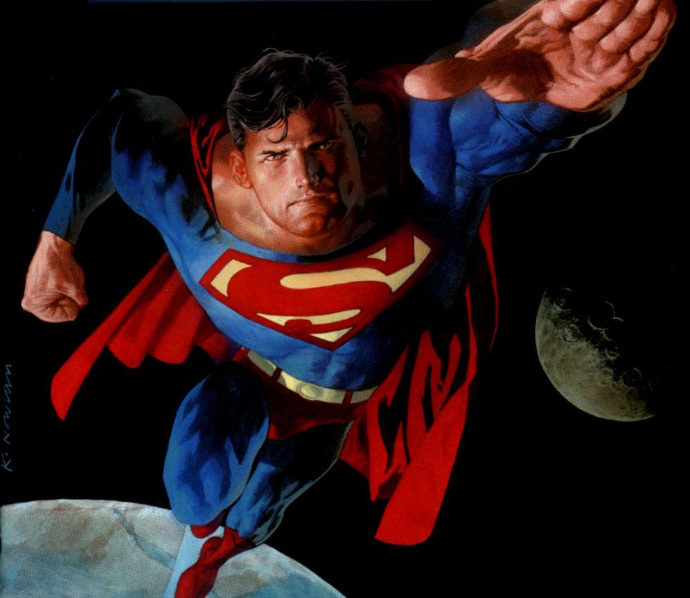 -Superman- Superman-in-space