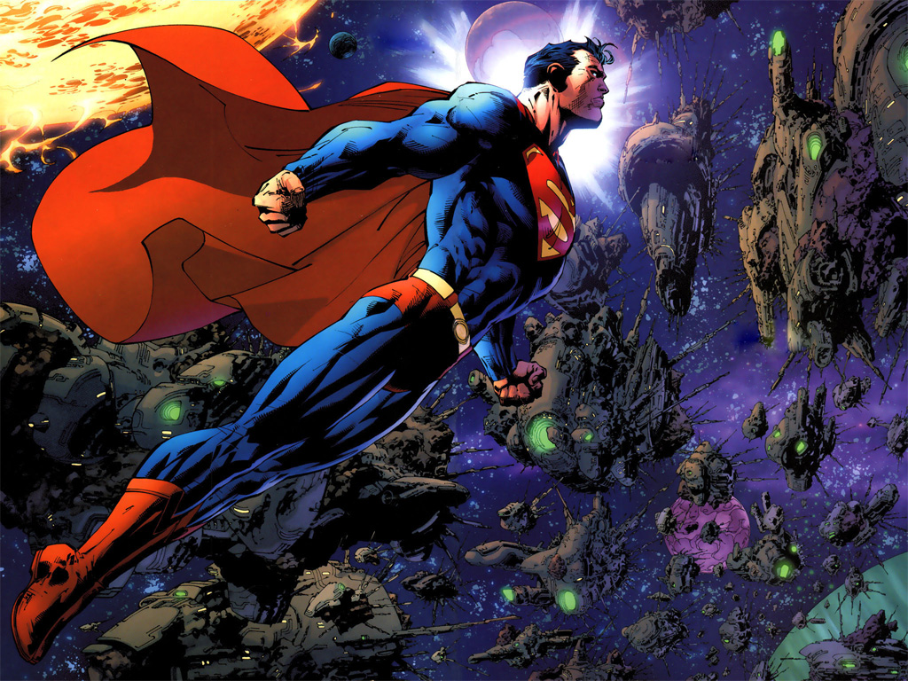 superman comic art wallpaper - photo #5
