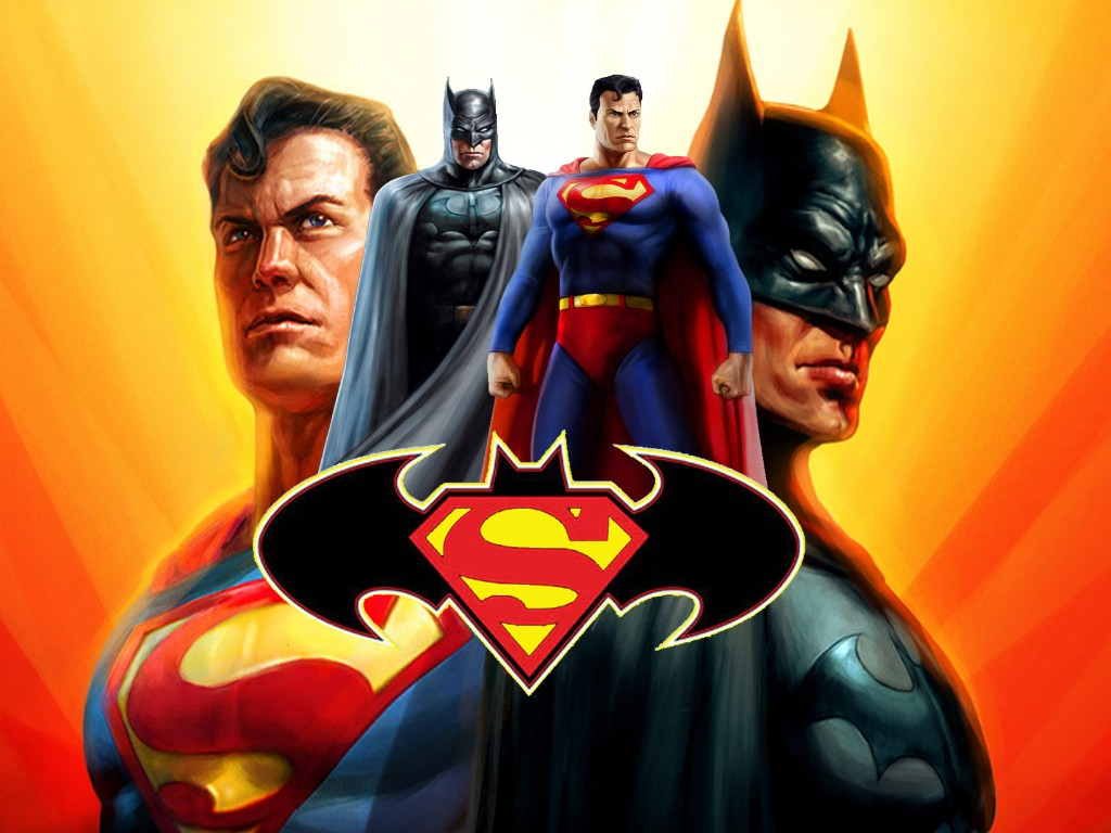 batman and superman cartoon wallpaper - photo #8