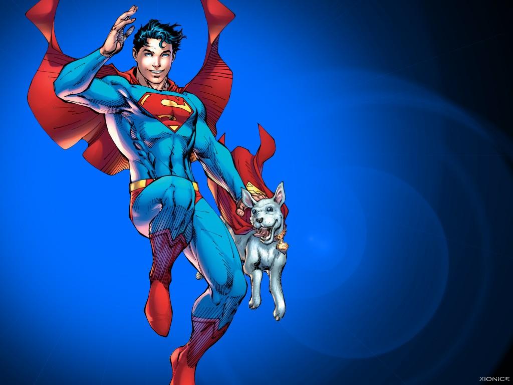 Superman and Superboy Gay