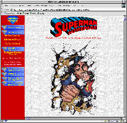 1997 Superman Homepage