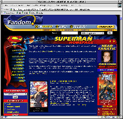 1999 Superman Homepage