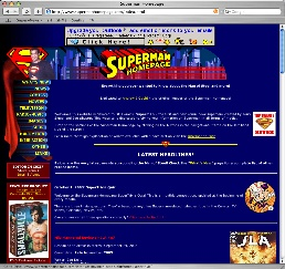 2000-2003 Superman Homepage