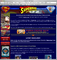 2003-2004 Superman Homepage